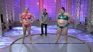 Jim Rose & Women Sumo Wrestlers on Roseanne Show