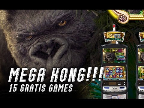 Casino BONUS , 15 gratis games MEGA KING KONG !!