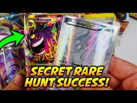 GOLD!! SUCCESSFUL SECRET RARE HUNT! 28 Phantom Forces Booster Packs