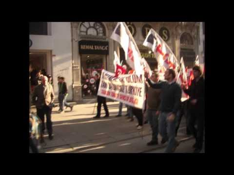 Anti Imperialism Protest Riot In Istanbul Turkey