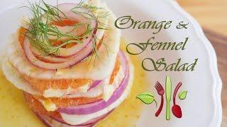 Orange & Fennel Salad (vegan, Oil Free, Plant-based, Easy)