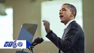 Bí mật chiếc máy nhắc chữ của Tổng thống Obama - VTC