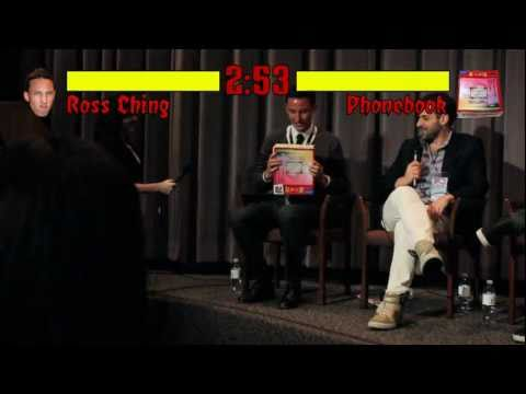 LAAPFF Showdown: Ross Ching & Harry Shum, Jr. VS Phonebook