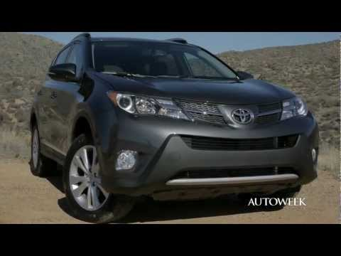 2013 Toyota Rav4 & Rav4 EV - Drive Review Video