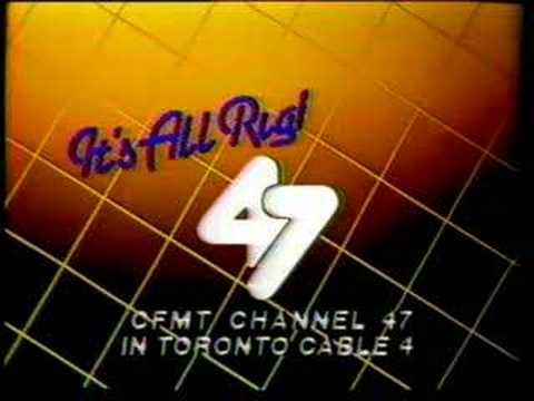 CFMT Toronto Channel 47 Cable 4 ID 1985