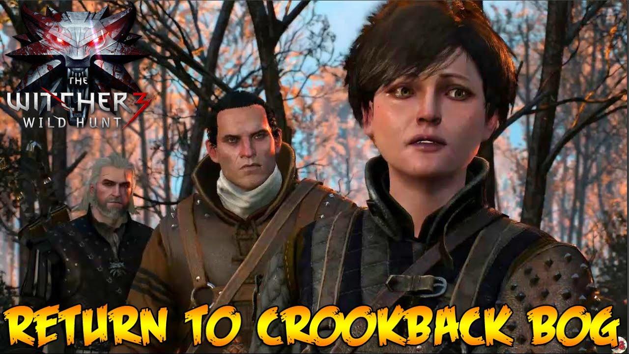 witcher 3 how to get to crookback bog