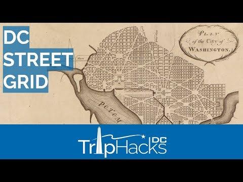 Washington DC Street Grid, Explained