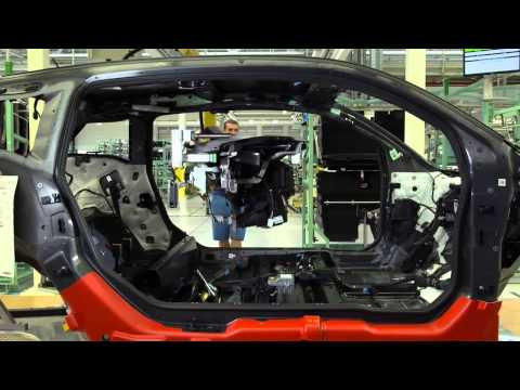 Factory of BMW i3