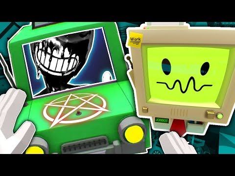 AUTO MECHANIC SUMMONS BENDY AND BUILDS HIM A CAR! | Job Simulator VR (Let's Play/HTC Vive Gameplay)