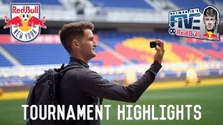 Playing At The Neymar Fives At Red Bull Arena | A Day In The Life Of A Footballer/Soccer Player