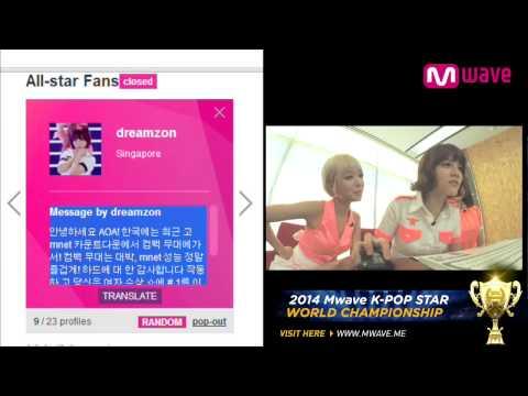 AOA 1st Mini Album 'Short Hair' (2014.07.11) Part 2 [MEET&GREET]
