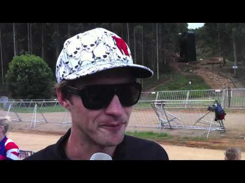 2012 Pietermaritzburg World Cup - Greg Minnaar Interview