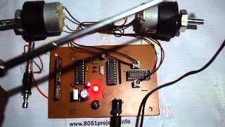 RF based DC motors Controller