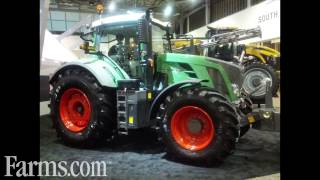New CLAAS Lexion 780 Combine, Tribine Combine, Fendt Tractor at AgConnect Expo 2013