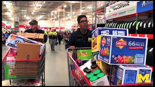 University of Michigan Solar Car Team - Grocery Shopping for Mock Race