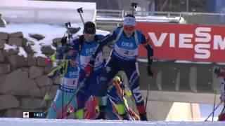 INCREDIBLE FINISH ! Biathlon World Championships 2016 - Women's Relay