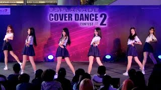 150614 Be-Bright cover GFRIEND - Glass Bead @Esplanade Cover Dance #2 (Audition)