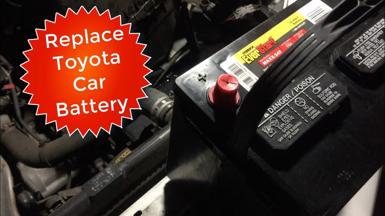 How To Replace Toyota Highlander Car Battery