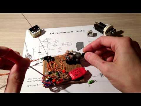 FM приёмник на одном транзисторе - One Transistor Radio