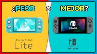 ¡Switch LITE VS Nintendo SWITCH! 🔥 (NUEVO procesador) SIN DOCK ¿Sucesora de 3ds?