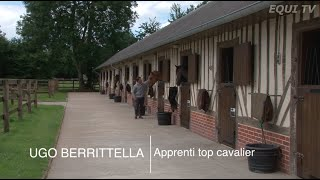 Ugo Berrittella, apprenti top cavalier