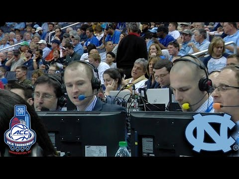 The Tar Heel Sports Network Takes You Inside An ACC Tournament Broadcast