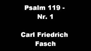 Gymnasium Neufeld - Carl Friedrich Fasch: Psalm 119 - Nr.1