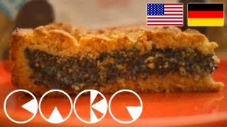 MOHNKUCHEN MIT PUDDING Rezept - POPPY CAKE Recipe
