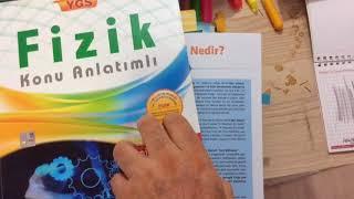 29 Eylül 2017 palme ygs  fizik konu anlatım kitabı İNCELEMESİ