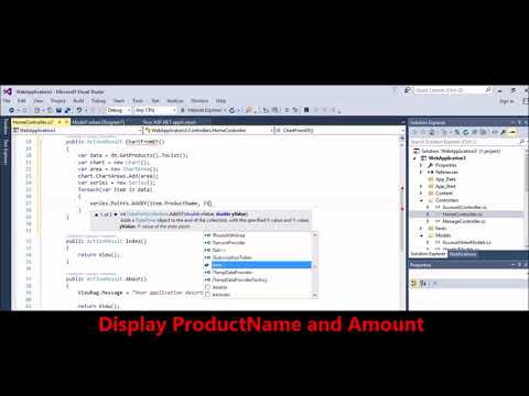 MVC -  Charting -  Create Chart using data from DB -  Entity Framework