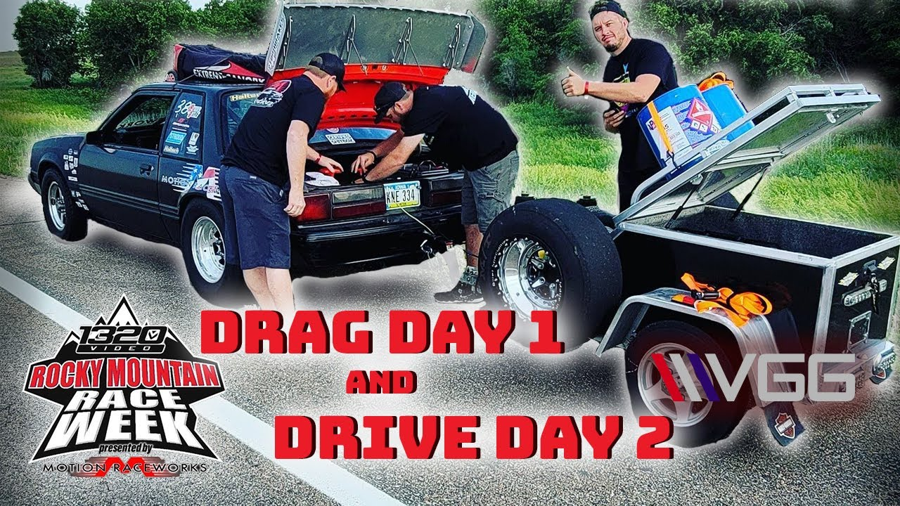 Race Week Day 1 & 2! - 300 Miles In a untested Turbo Fox Body Mustang?