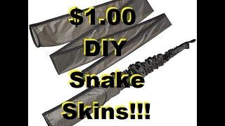DIY Loofah $1 snake skin Part 1 of 2!