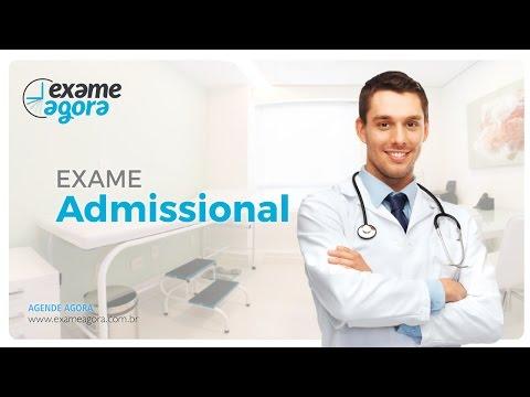 Видео Exame admissional tatuape