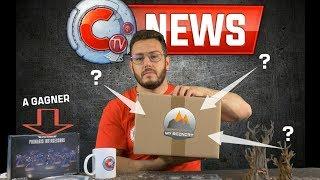CTV NEWS - I.R 2019, ESC-ETC, GoT, FAQ 6k abo, Nouvelle table de jeu, accessoire CTV, Jeu concours
