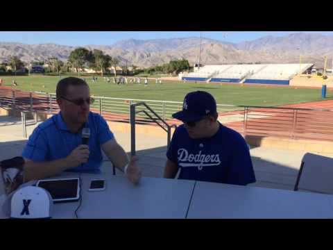 Prep Sports Net LIVE from Cathedral City High School part 1 of 2