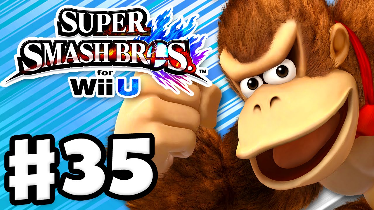 super smash bros wii u gameplay walkthrough part 35