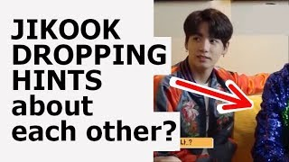 Jikook Dropping Hints | PART 2 | jikook analysis