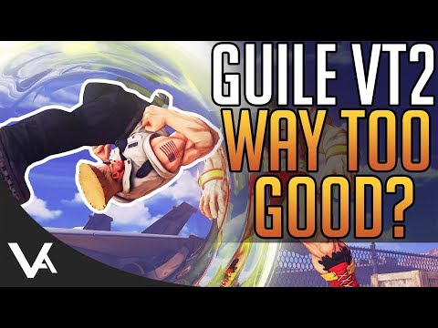 SFV - Guile's V-Trigger 2 Way Too Powerful? Analysis For Street Fighter 5 Arcade Edition