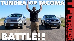 Compared: Tacoma vs Tundra - Watch This Before You Buy a Toyota Truck!