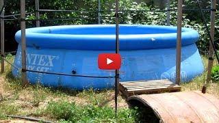 видео Детские надувные бассейны на лето
