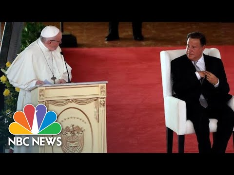 Pope Francis Speaks Out Against Corruption In Public Office | NBC News