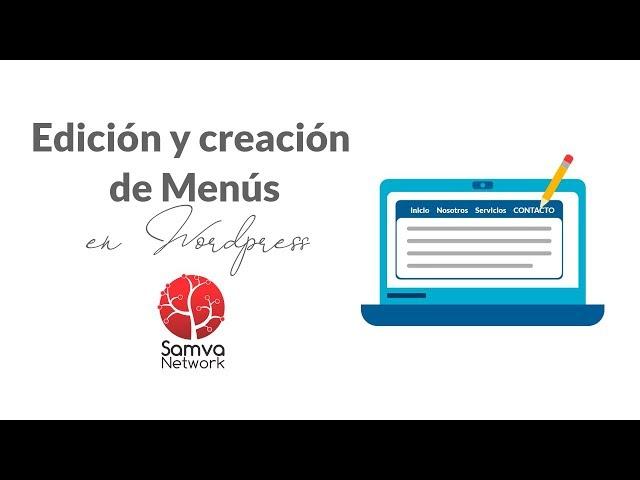 Crear y editar menús en WordPress con la plantilla BeTheme - Samva Network - Diseño Web