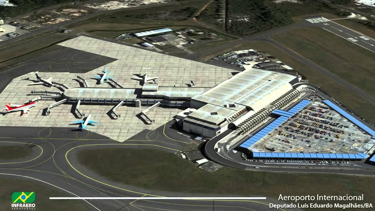 Aeroporto de salvador bahia brazil - 1 part 5