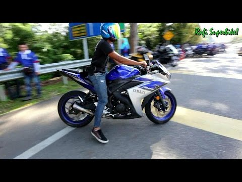 Yamaha R25 || SC Project Conic || Sound / Acceleration / Fly By