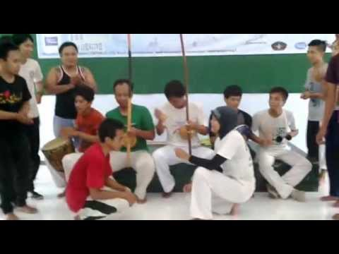 Capoeira Cordao de Ouro Indonesia workshop camp