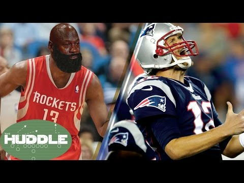 Are James Harden AND Tom Brady CURSED?! -The Huddle