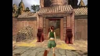 Tomb Raider 4: The Last Revelation: Level 1 Angkor Wat Walkthrough