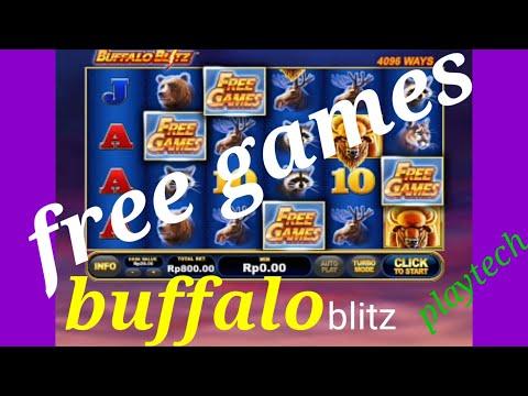 #buffaloblitz-#slotonline-#slot-buffalo-blitz-bet-800
