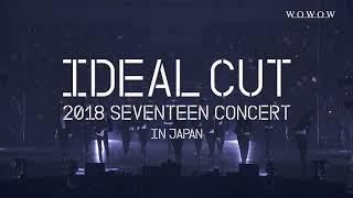 [SPOT] WOWOW / 「2018 SEVENTEEN CONCERT 'IDEAL CUT' IN JAPAN」