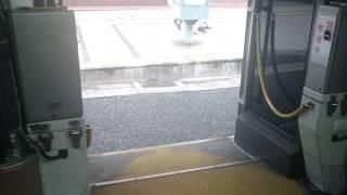 広島バス507号[広島22く42-85] グライドスライドドア開閉